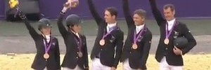 Watch: Olympic Bronze: New Zealand eventing team third