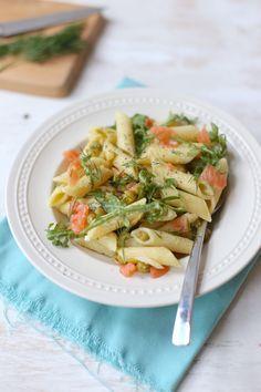 Pasta met boursin en zalm - Lekker en simpel !