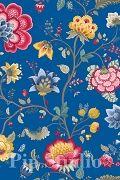 PiP Floral Fantasy Dark Blue wallpaper | PiP Studio ©