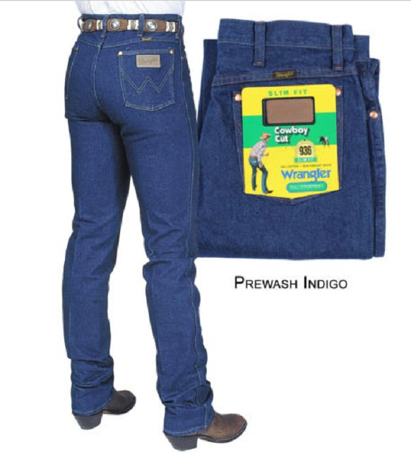 *Authentic five pocket styling *Scoop front pockets *Spade hip pockets *100% cotton denim A popular style year after year, the Cowboy Cut® Slim Fit jean features all of the styling of the 13MWZ but wi