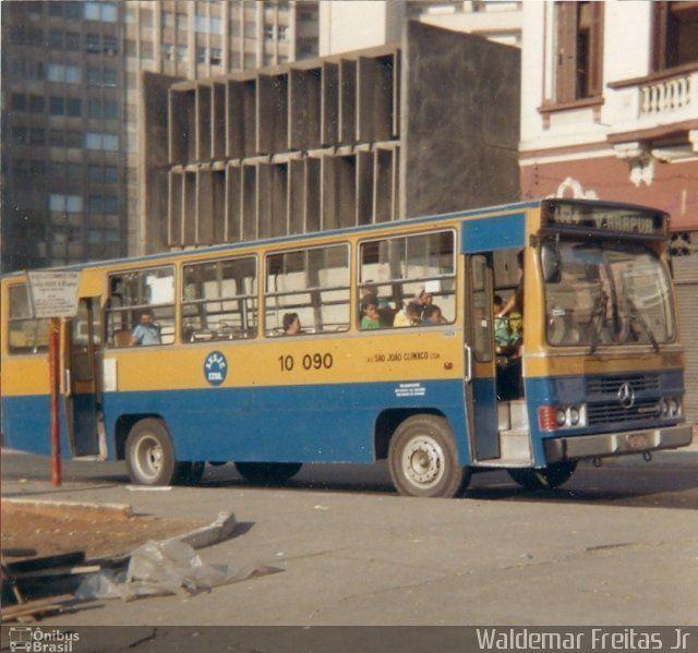 Ônibus da empresa Auto Viação São João Clímaco, carro 10 090, carroceria CAIO Amélia, chassi Mercedes-Benz OF-1113. Foto na cidade de São Paulo-SP por Waldemar Freitas Jr, publicada em 26/08/2014 17:12:00.