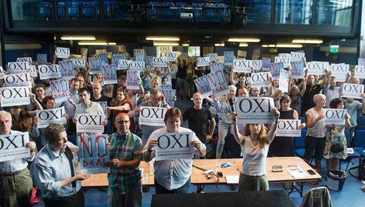 ΟΧΙ από τα συνδικάτα στο Λονδίνο μέχρι την Ελλάδα - Στο κόκκινο - 105,5 FM