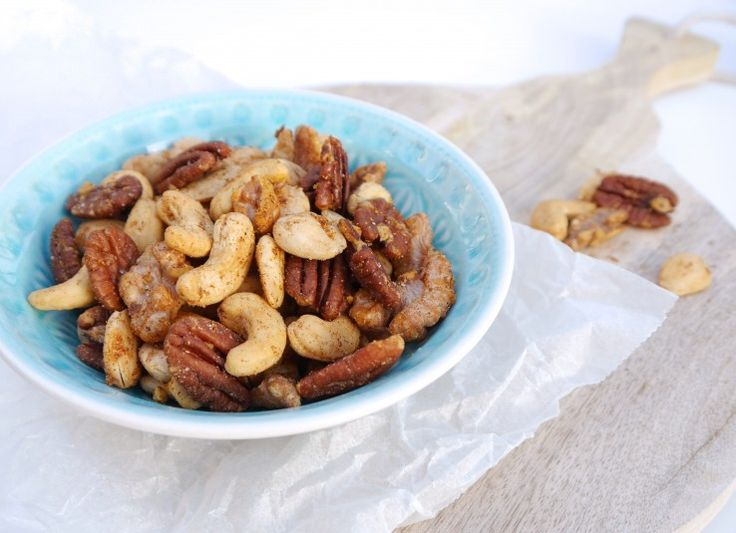 Home made gekruide noten