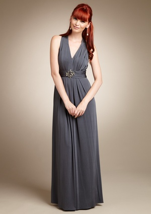 Would love to wear this to some of the weddings we have to go to this year :). Is grey too dull, though?