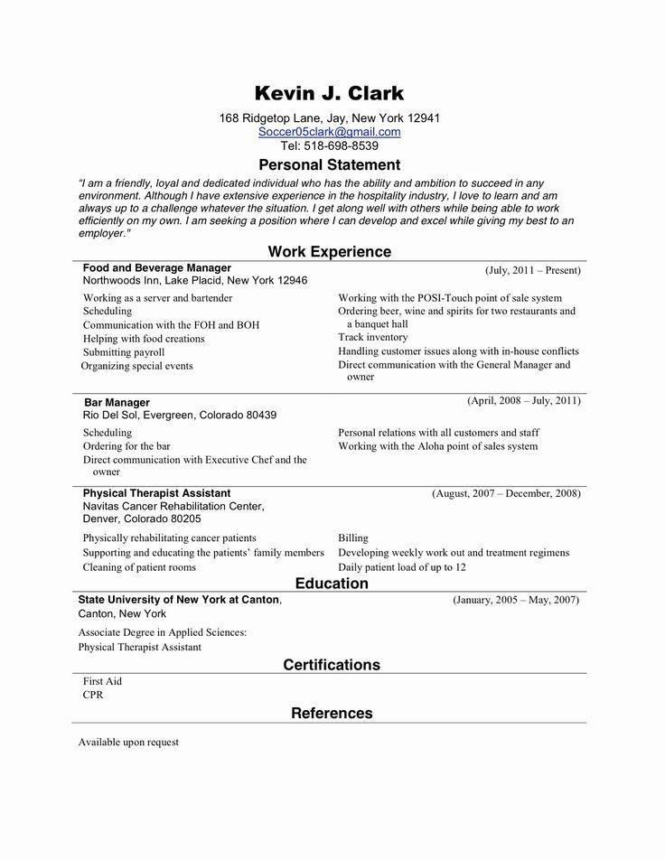 25 New Grad Nursing Resume Templates in 2020 Nursing