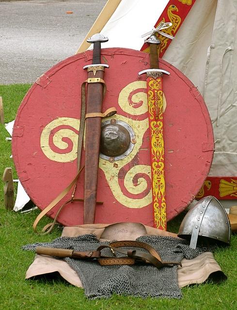 Viking Weapons by Thorskegga, via Flickr