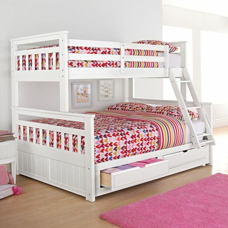 Springsdale Twin Over Double Storage Bunk Bed Sears