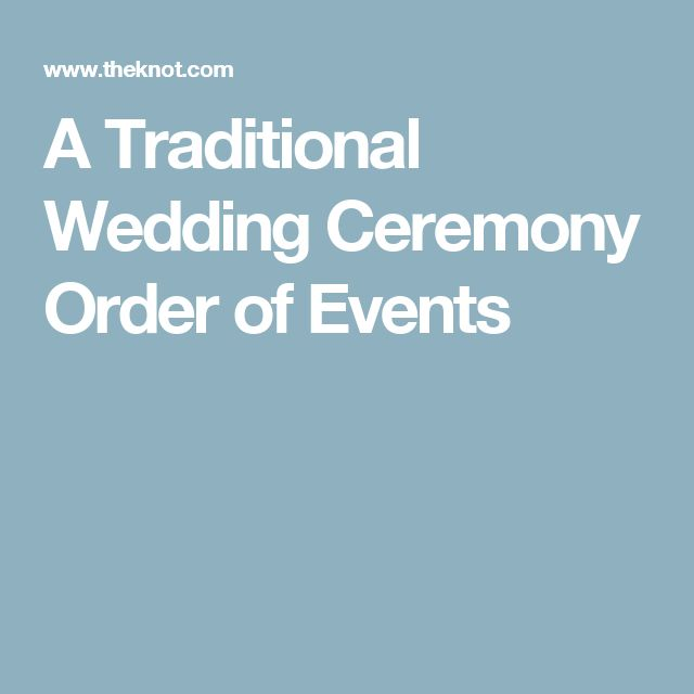 Order Of Wedding Ceremony: Best 25+ Wedding Ceremony Order Ideas Only On Pinterest