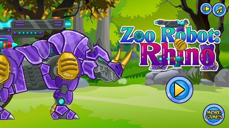 Your Dino Robot Zoo replenishes new animal warrior. Meet the new robot – a robot Rhino! He is well-armed and very dangerous. Its parts are scattered, try to set them into place. Play friv games at friv2 site.
