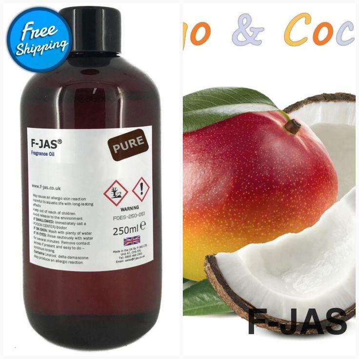 Fragrance Oil 250ml (Pure, Mango & Coconut) In 2020