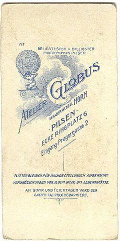 Plzeň / Pilsen,  Atelier Globus, Horn