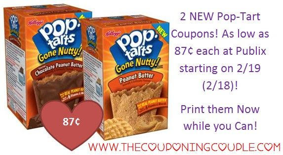 2 NEW Pop-Tarts Coupons ~ PRINT Now for CHEAP Pop-Tarts @ Publix Starting on 2/19 (2/18 for some)! Click the link below to get all of the details ► http://www.thecouponingcouple.com/2-new-pop-tarts-coupons/  #Coupons #Couponing #CouponCommunity  Visit us at http://www.thecouponingcouple.com for more great posts!