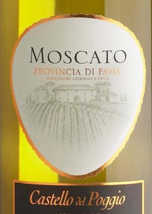10 Top Sweet Moscato Wine Picks: Castello del Poggio Moscato (Italy) $15