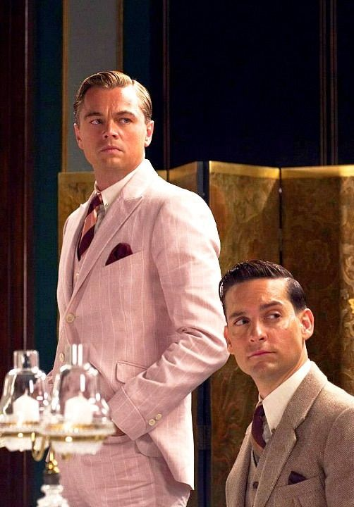 Gatsby & Nick. Can I just say how much I love the costumes in this film?