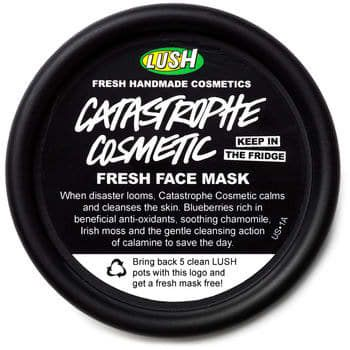 Catastrophe Cosmetic is still my fave spot-busting mask.Get it at Lush, £7.50