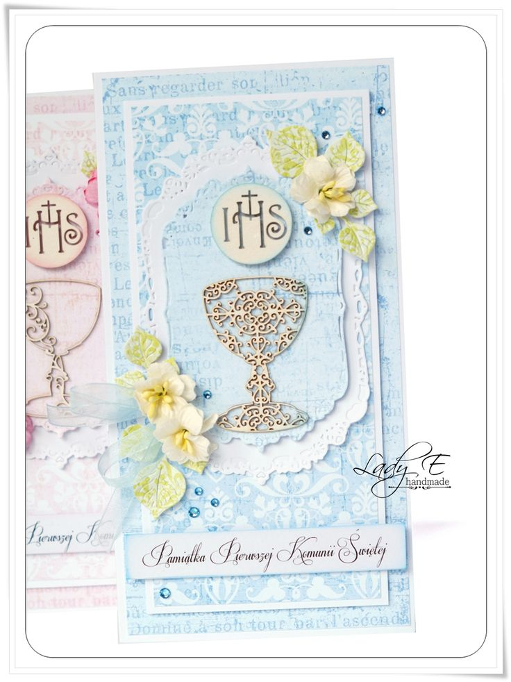 Karki komunijne DT Scrapiniec / Holy Communion cards DT Scrapiniec
