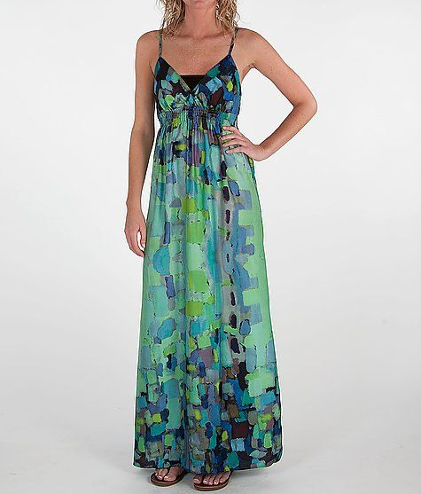 Daytrip Smocked Waist Maxi Dress: Maxi Dresses, Waist Maxi, Pattern, Multi Colors, Colors Editing, Daytrip Maxi