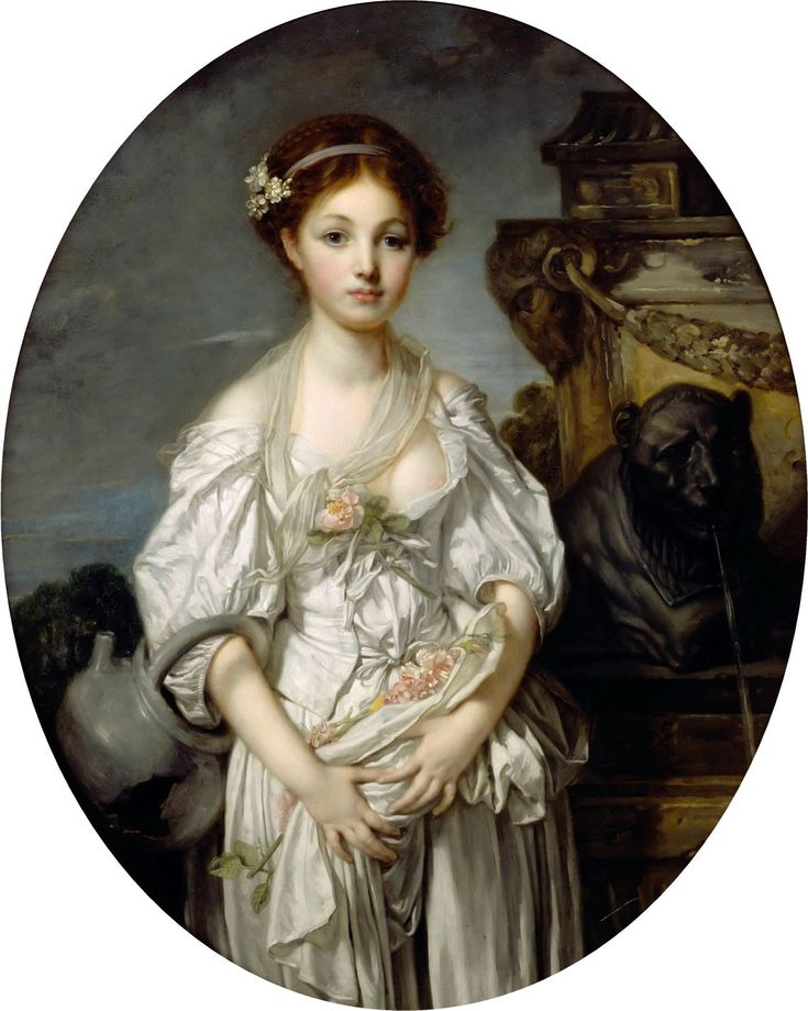 """If, as a painter of genre, Greuze is too often melodramatic and vulgar, by its delicate and precious heads of children, it belongs well to this eighteenth century which is the beautiful period of art of France and that Michelet does not hesitate to call """"the great century""""."""