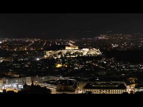 Acropolis Earth Hour 2010 - YouTube