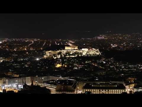 Acropolis Earth Hour 2010 - YouTube