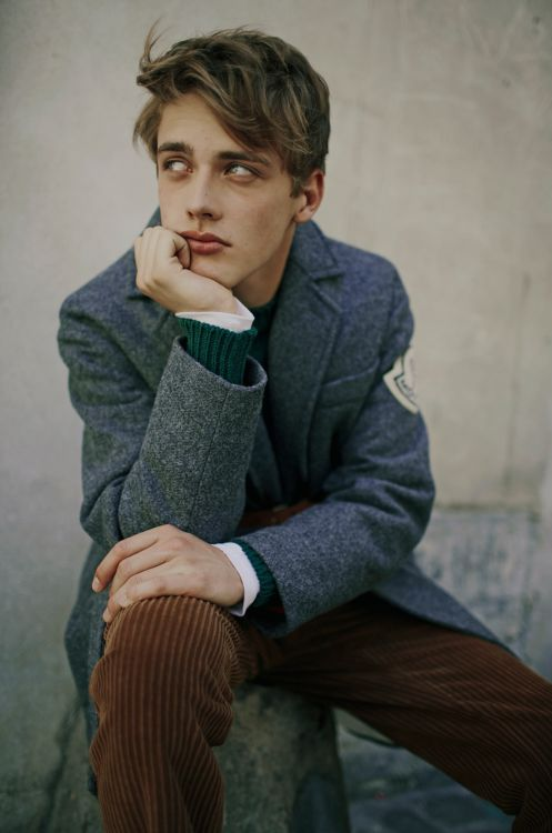 Photo by Fanny Latour-Lambert Model Billy Vandendooren Styling Luca Roscini for Style Magazine Italia