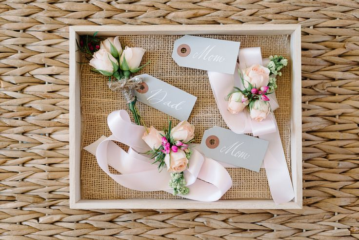 #boutonniere  Photography: Michelle Lange - loveandbemarried.com  Read More: http://www.stylemepretty.com/2014/08/14/romantic-pastel-military-wedding/