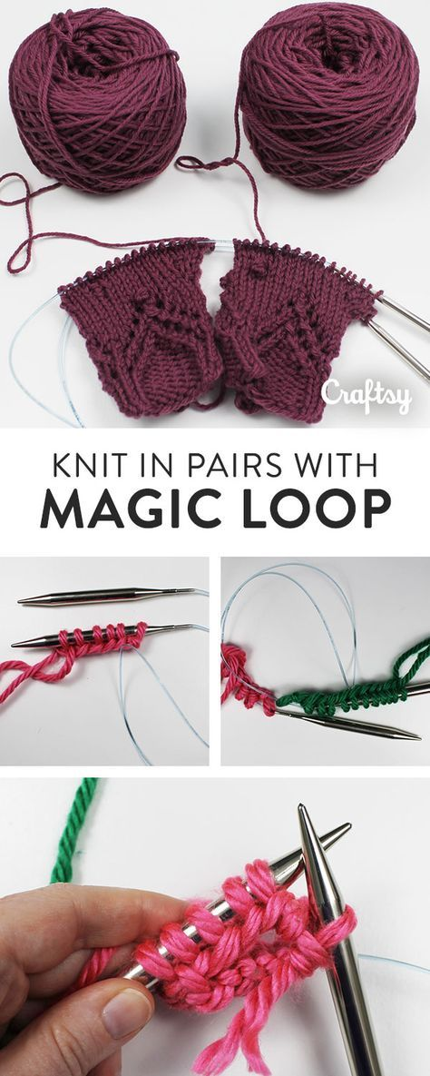 Say goodbye to solo socks (or mittens or sleeves)! Learn cast on two at a time with this amazing magic loop knitting technique.