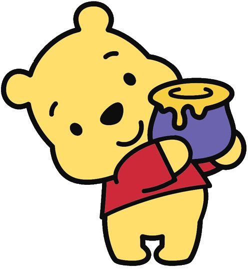 Disney Cuties- pooh bear