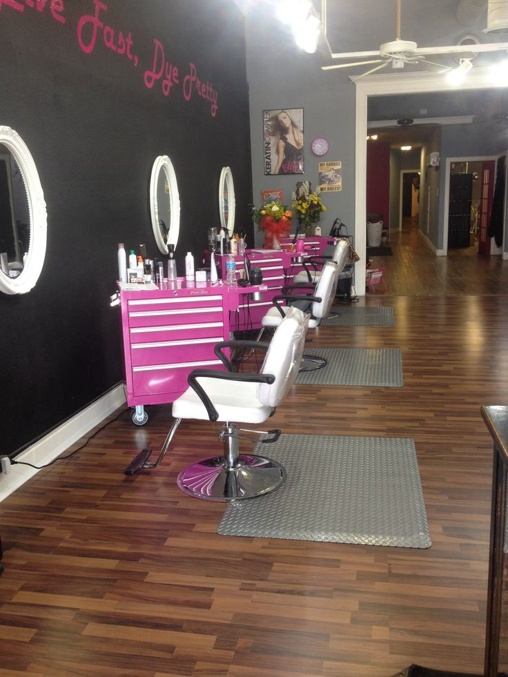 1000 images about kadillac barbies salon spa on for Salon kerat in
