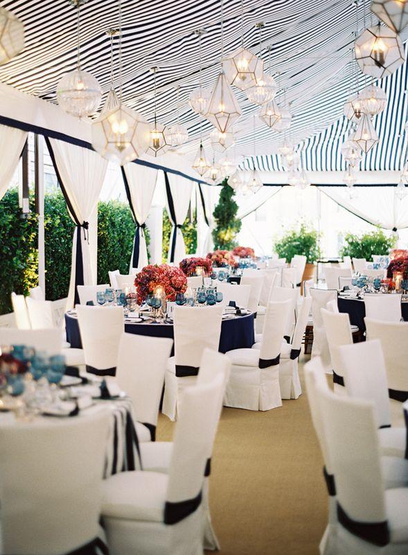 9 fabulous tent ceiling decor ideas - Wedding Reception Decor