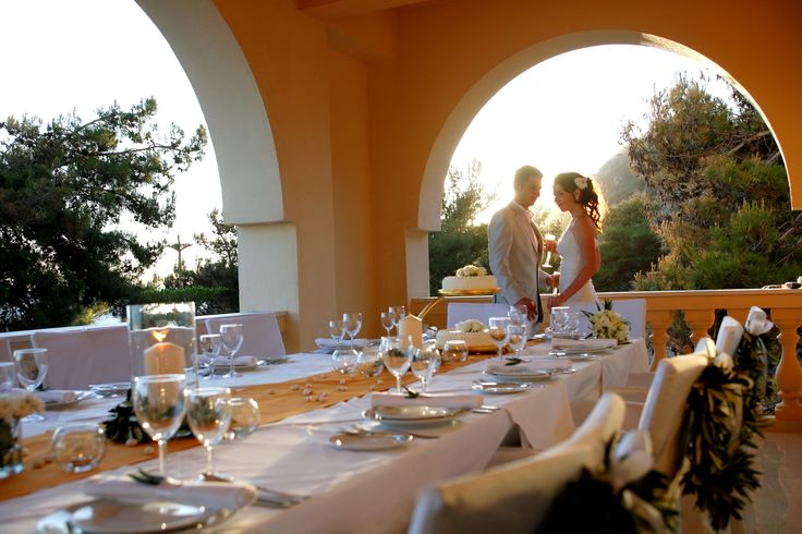 The anxious part is over, enjoy your wedding party at Lti Louis Grand Hotel in Corfu.