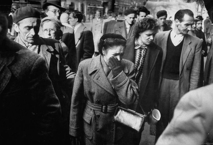 A Rip in the Iron Curtain: Photos From the Hungarian Revolution, 1956 | LIFE.com...reaction to the carnage in the street