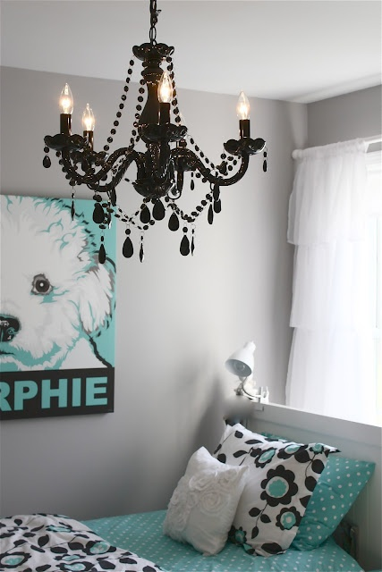 56 best paint colors images on pinterest 14572 | 923077987f6b6679eb55d5d3fb85b537 teen room makeover black chandelier