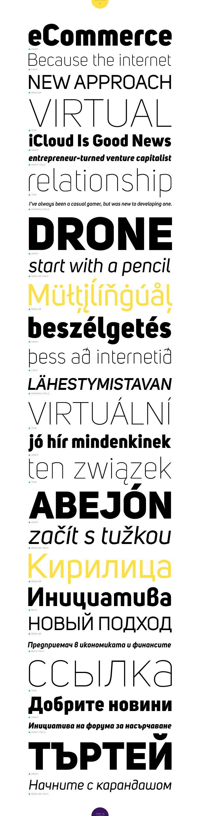 Uni Sans Free | Fontfabric™