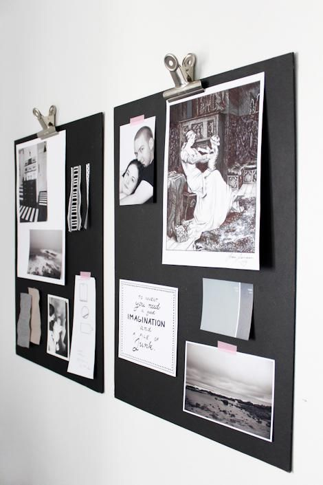how to make a pinboard wall