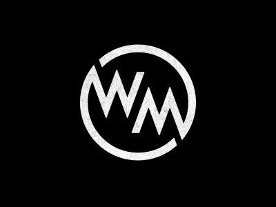 WM monogram ambigram | Circles, By and Nice