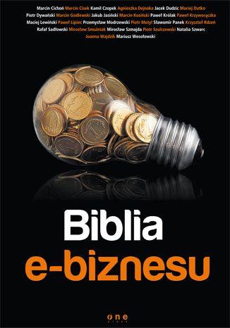 """""""Biblia e-biznesu"""" to dzieło napisane przez 25 ekspertów i praktyków. Pomysłodawcą książki jest Maciej Dutko. Każdy zajął się nieco innym aspektem prowadzenia biznesu online dzięki czemu dzieło stanowi najbardziej kompletny zbiór informacji w tej tematyce, jaki powstał na naszym rynku."""