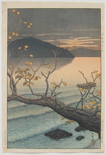 Kawase Hasui - Nenokuchi, Towada, 1932
