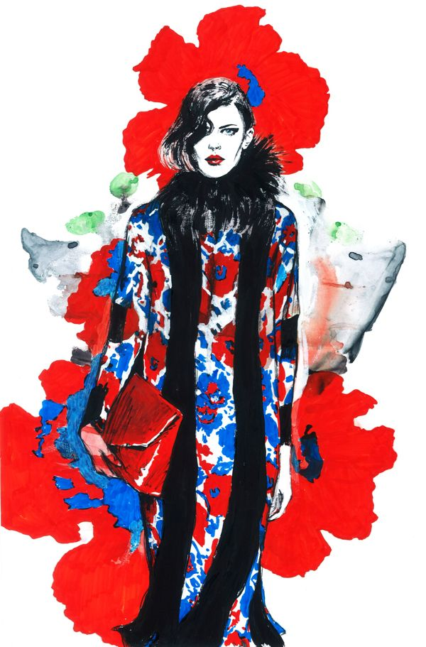 fashion illustration-Diana Kuksa