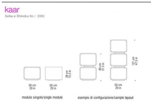 CoKaar container - design by Setsu and Shinobu Ito - spHaus