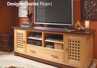 projeto gratuito no blog: Ah! E se falando em madeira...: Gabinete para TV plasma