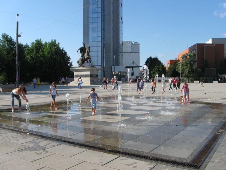 Pristina, Kosovo. Click for More Photos.
