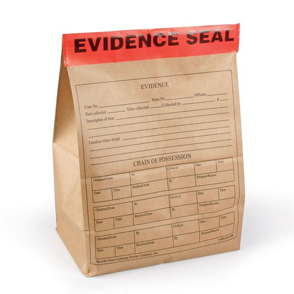 "Ideal for sealing large evidence bags and boxes, doors and windows.Pre-printed with writable areas for case number, date and initialsSplit backing reduces chance of label adhering to itself during applicationMeasures 10.2cm x 30.5cm (4"" x 12"")"