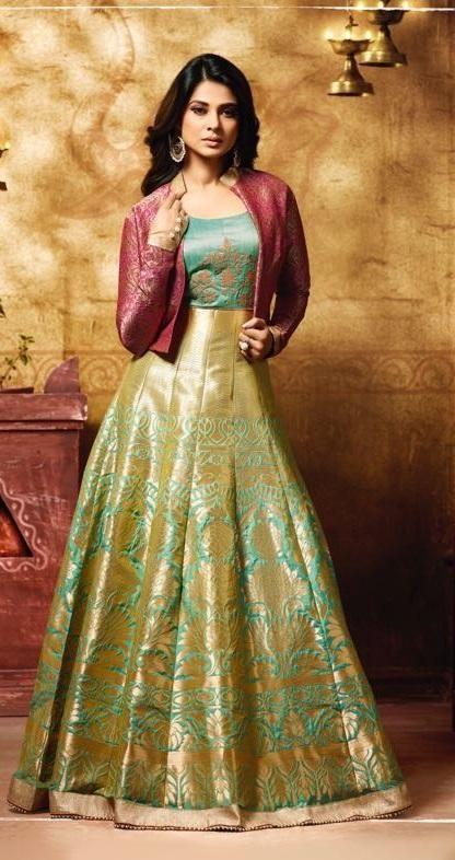 240aabb5a6 Mugdha Suits 11009 in 2019 | Saree | Indian designer wear, Designer ...
