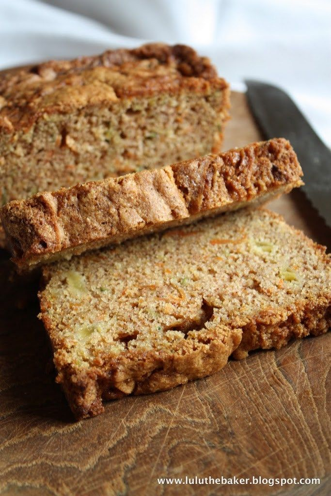 I've been trying like crazy to think of what to say about this quick bread. Here's what I have so far: I really love zucchini bread, and I really love baked goods containing apples, and I really love carrot cake. This fantastic recipe combines all three of my great loves into one delicious treat. And...Read More »