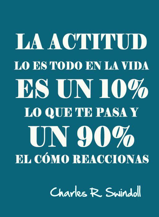 la actitud lo es todo frases - frases de actitud positiva ante la vida