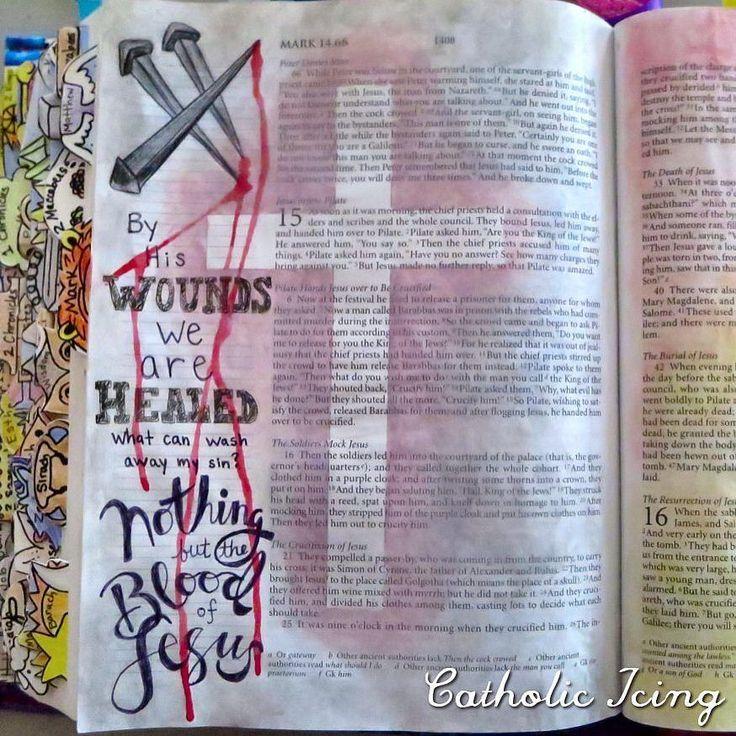 Jesus' death on the cross