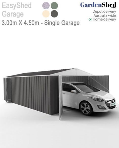 EasyShed GarageRange • 2 Wall Heights to choose from - 1.8m | 2.10m So tough - Too Easy!
