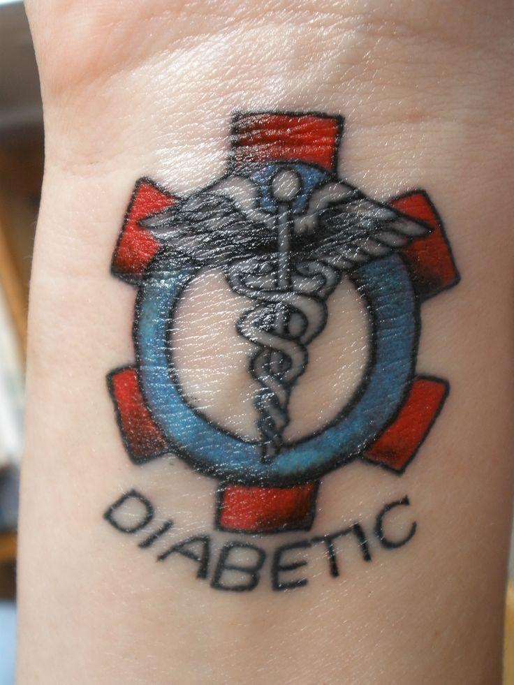 diabetic: Tattoo Ideas, Alert Tattoo, Medical Alert, Tattoo Inspiration, Types 1 Diabetes Tattoo, Diabetes Awareness, A Tattoo, Diabetes Types 1 Tattoo, Medical Tattoo