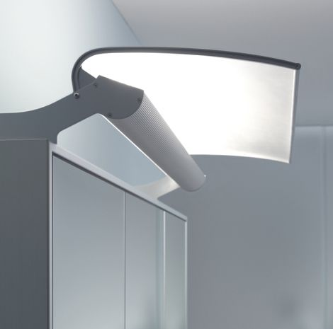 mirror wall system from duravit the mirrorwall opens up your bathroom environment lighting for